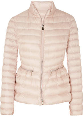 Moncler Quilted Shell Down Jacket - Pastel pink