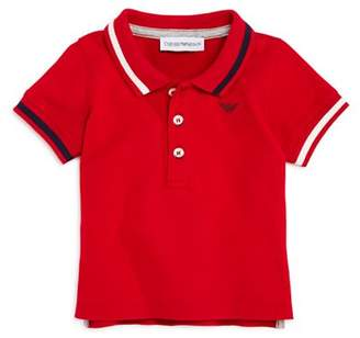 Armani Junior Boys' Contrast-Striped Polo - Baby