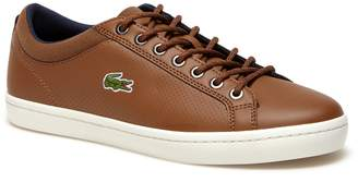 Lacoste Men's Straightset SP Leather Sneakers