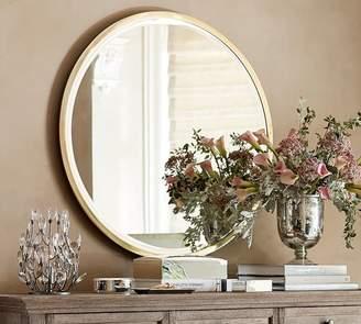 Pottery Barn Layne Round Wall Mirror
