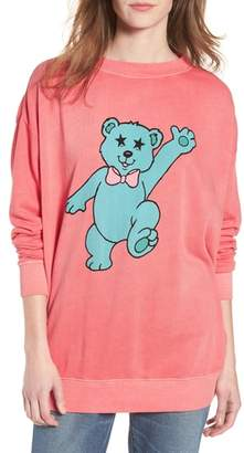 Wildfox Couture Groovy Teddy Road Trip Pullover Sweatshirt