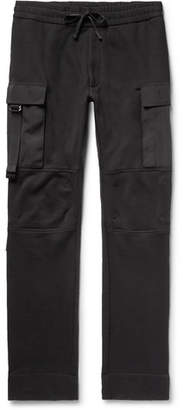 ALYX Slim-Fit Fleece-Back Cotton-Jersey Cargo Sweatpants