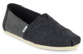 Toms Alpargartas Deconstructed Wool Slip-On Sneakers