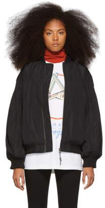 Perks And Mini Black Breathe Bomber Jacket
