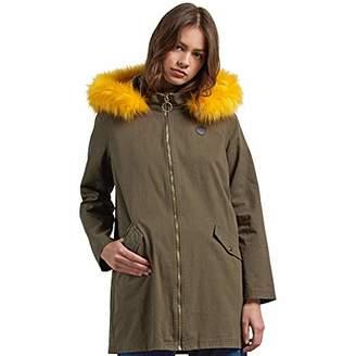 Volcom Junior's Pow Now Fur Lined Heavyweigh Parka Jacket