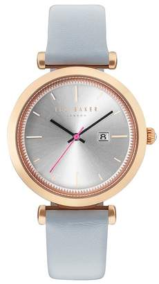 Ted Baker Ava Leather Strap Watch, 36mm