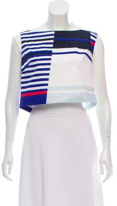 Milly Striped Crop Top