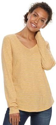 Sonoma Goods For Life Women's SONOMA Goods for Life Essential V-Neck Tee