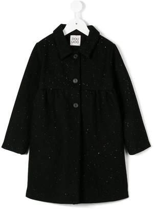 Douuod Kids long button coat