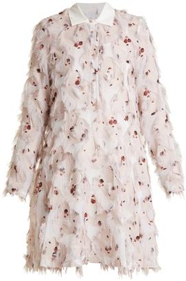 SEE BY CHLOÉ Point-collar floral-print fil coupé dress $435 thestylecure.com