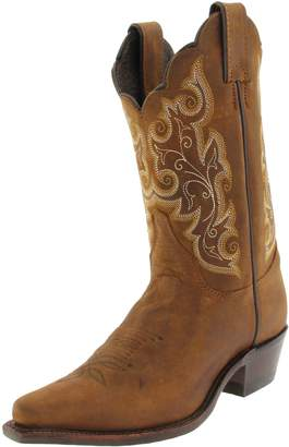 """Justin Boots Women's U.S.A. Classic Western 10"""" Boot Narrow Square Toe Leather Outsole"""