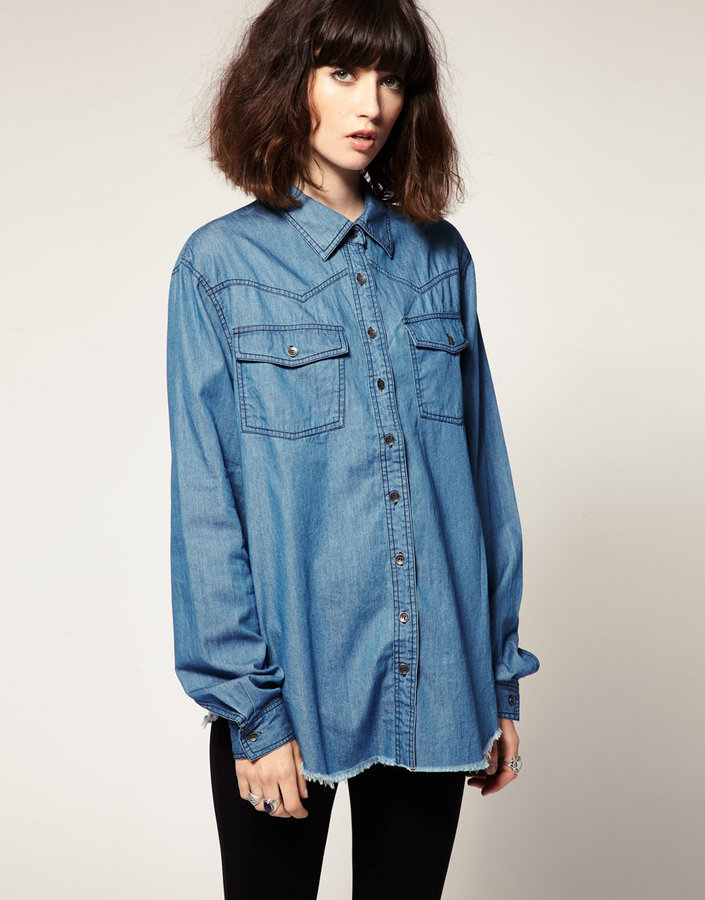 One Teaspoon Chambray Shirt