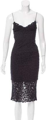 Nicholas Sleeveless Lace Dress