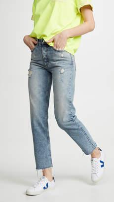 Boyish The Tommy High Rise Rigid Straight Jeans
