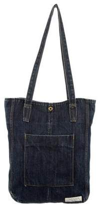 Rag & Bone Large Denim Tote
