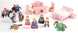 Badger Basket Castle Dollhouse 16 Piece Accessory Set
