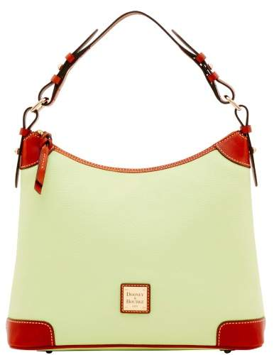 Dooney & Bourke Pebble Grain Hobo Shoulder Bag - KEY LIME - STYLE