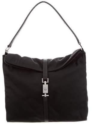 Gucci Jackie Canvas Shoulder Bag Black Jackie Canvas Shoulder Bag