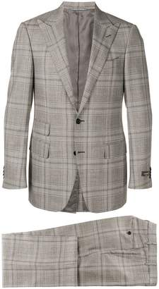 Canali two-piece checked suit