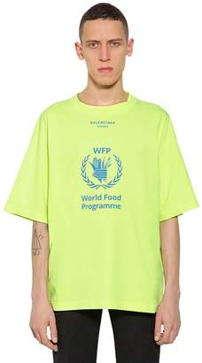 Balenciaga Oversized World Food Program T-Shirt