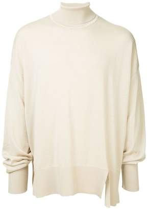 Wooyoungmi oversized roll neck sweater