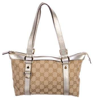 6aef665ec16 Pre-Owned at TheRealReal · Gucci GG Canvas Small Abbey Tote