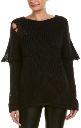 IRO Distressed Alpaca & Wool-Blend Sweater