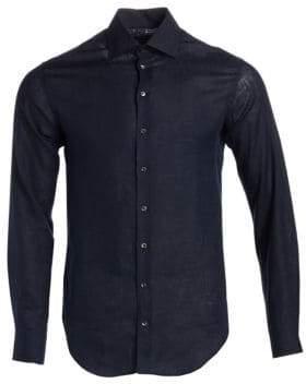 Giorgio Armani Cotton Button-Down Shirt