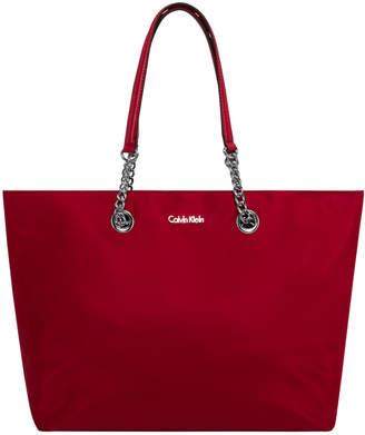 Calvin Klein Nylon Chain Tote Bag H6DBE5AX_RS3