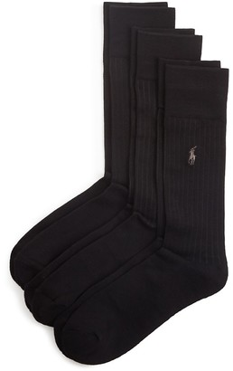 Polo Ralph Lauren Ribbed Socks, Pack of 3 $23 thestylecure.com