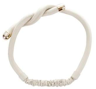Colette Malouf Leather Twist Headband