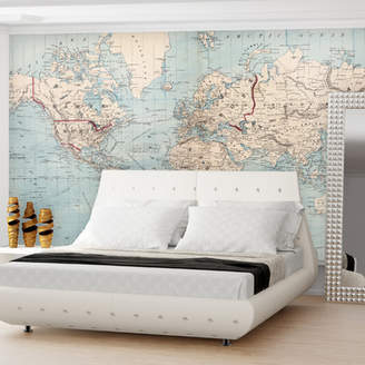 Mercury Row Global Thinking Wall Decal