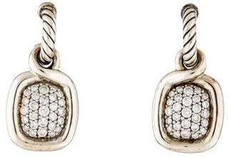 David Yurman Diamond Labyrinth Drop Earrings