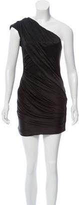 Alexander Wang One-Shoulder Mini Dress