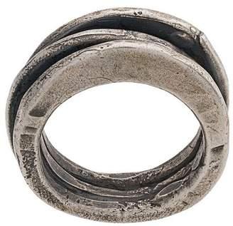 Goti distressed ring