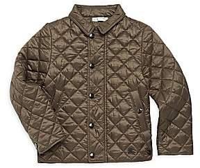 30dd955b50e Burberry Little Boy s   Boy s Lyle Quilted Jacket