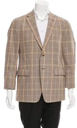 Etro Glen Plaid Two-Button Blazer