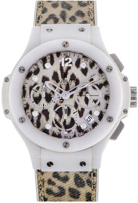 Hublot Heritage  Women's Big Bang 38Mm/ 39Mm Jeweled Diamond Watch