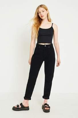 BDG Mom Black Corduroy Jeans