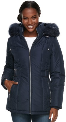 Details Women's Hooded Quilted Heavyweight Jacket