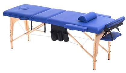 TRYIF Massage Table Home Furniture Wood Salon Spa Facial Bed With Carrying Case