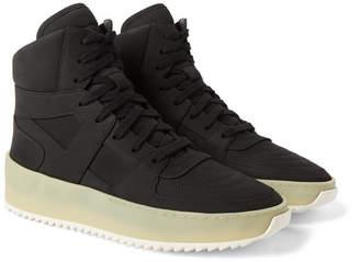 Fear Of God Basketball Nubuck High-Top Sneakers