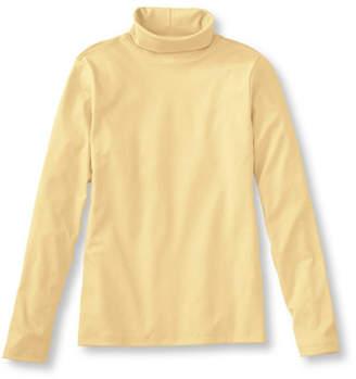 L.L. Bean (エルエルビーン) - ピマ・コットン・シャツ、タートルネック 長袖