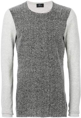 Lost & Found Ria Dunn contrast knitted top