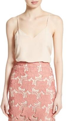 Women's Alice + Olivia Emmeline Handkerchief Hem Camisole $195 thestylecure.com