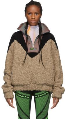 Misbhv Beige Europa Fleece Pullover