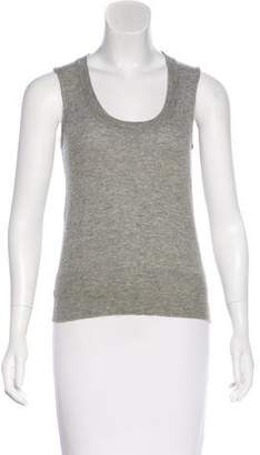 Maison Margiela Wool Sleeveless Knit Top