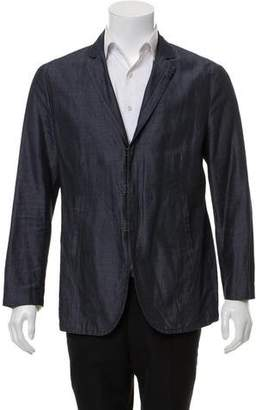John Varvatos Woven Light Weight Blazer