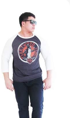 Original Penguin Bunny Brand Men's Fleetwood Mac Music Rock Raglan T-Shirt,XL