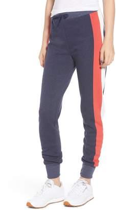 Wildfox Couture Jack Varsity Stripe Jogger Pants